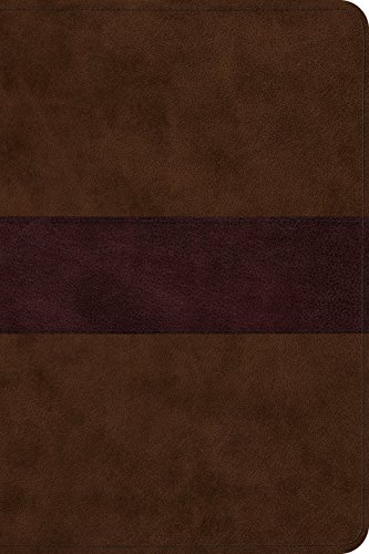 ESV Gospel Transformation Bible (TruTone, Chocolate/Plum, Trail Design)