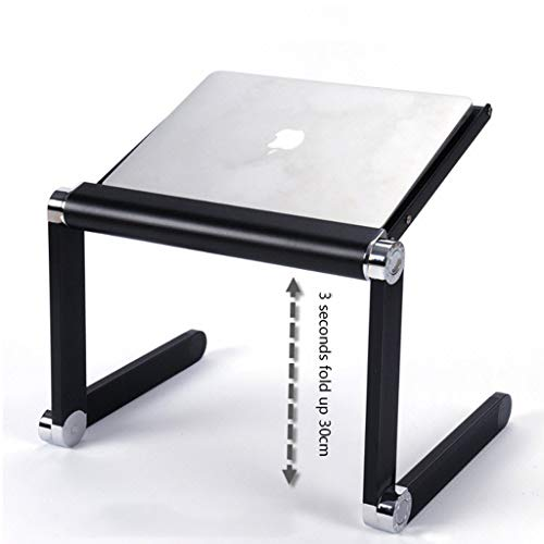 GWF Notebook Stand - Opvouwbare Lifting Verhoogde Cervicale Mac Computer Desktop Radiator Base Standing Office Bracket Lichtgewicht en Draagbaar Ontwerp is gemakkelijk te verplaatsen en op te slaan weg na gebruik.