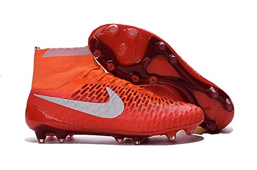demonry Schuhe Herren Magista obra fg mit ACC Fußball Stiefel, Rot, Herren, rot, 45