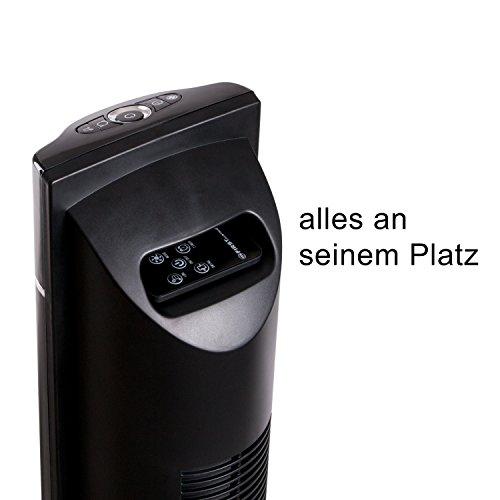 Säulenventilator mit Fernbedienung TZS First Austria Bild 3*