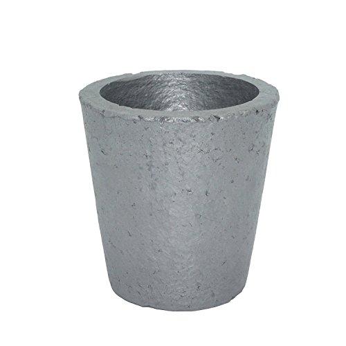 坩堝 炭化ケイ素黒鉛るつぼ 鋳造インゴット 金型 鋳型るつぼ シルバーゴールド溶融 金銀銅融解用 (4#)