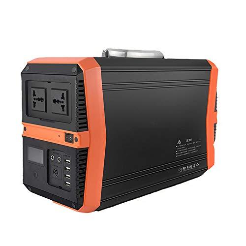 Accumulatore di Energia, 1000W 1000WH 273000mAh Generatore Solare Portatile con DC AC Inverter e LCD Display, Caricato dal Pannello Solare Presa a Muro per Campeggio, CPAP Backup di Emergenza