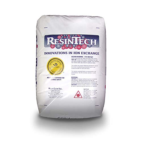 ResinTech CG8 - One Cubic Foot of Water Softening Resin - 32,000 grains