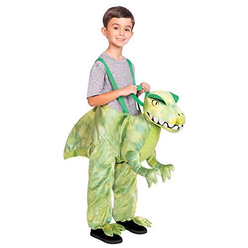 amscan 9904518 Dinosaur Ride-On Costume-Child 3-8 Years