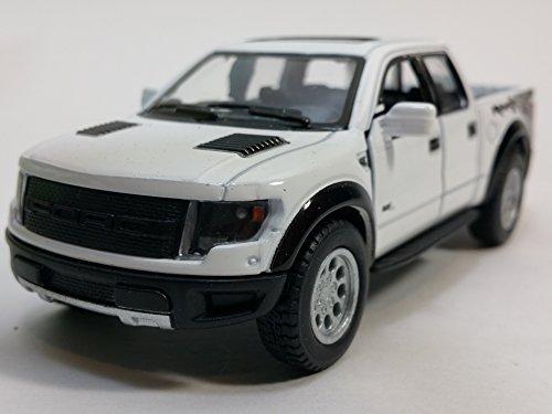 Kinsmart 2013 Ford F-150 SVT Raptor Supercrew (WHITE)