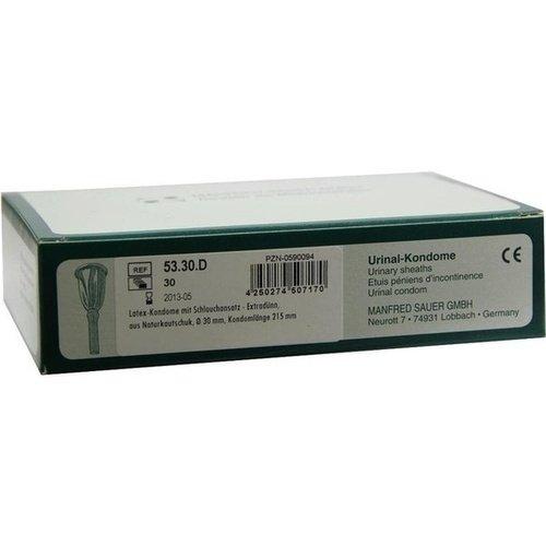 Latex-Urinalkondome - 30mm - extra dünn - PZN 00590094 - (30 Stück).