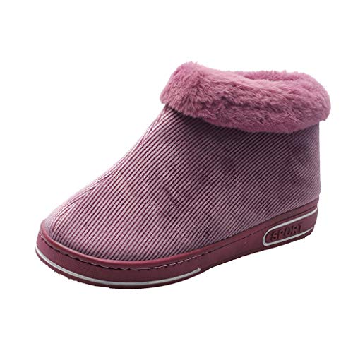 Buy Eimvano Women's Breathable Chenille Slippers Indoor Outdoor Anti-Skid Sole House Shoes