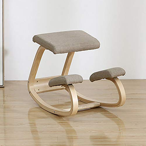 SMGY-YZ Ergonomische stoel knielend, hinknia bureaustoel ideaal voor de lichaamsvorm en stress te verminderen.