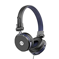 MuveAcoustics Impulse Wired On-Ear Headphones with Microphone (Flagship Blue),Zeeva Electronics Pvt. Ltd.,MA-1500FB,MuveAcoustics headphone,head phone,head phones MuveAcoustics,headphone with mic,headphone with microphone,headphones,headphones for mobiles,headset,headsets with mic