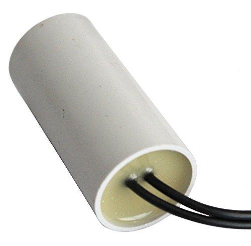 Aerzetix C10199 condensator voor motor, 4μF, 450 V, voorbekabeld
