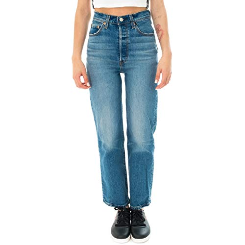 Levi's Jeans Donna Ribcage Straight Ankle 72693.0019 (29-0019 Jive Swing)
