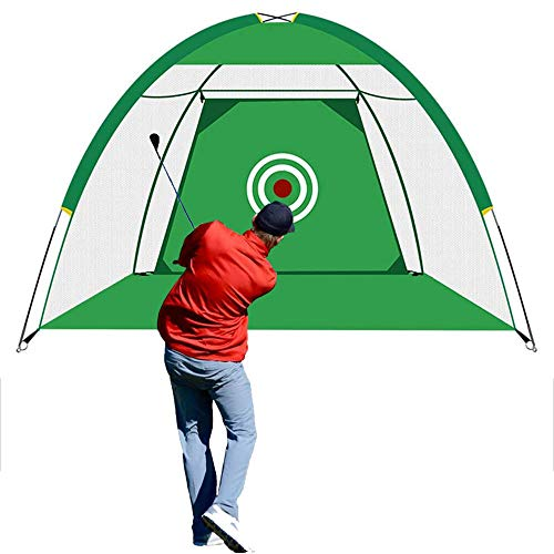 WF WU FANG Golf Nets for Backyard Driving, Golf Net Indoor Outdoor Training Aids, Golf Hitting Practice Net with Target Carry Bag, Golf Simulators for Home