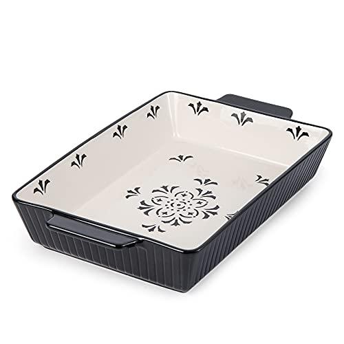 Baking Dish Casserole Dish 9x13 Baking Pan Ceramic Bakeware Sets Nonstick Lasagna Pan Baking Pan Set Baking Dishes for oven