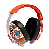 Bamini, Protection Noise Cancelling Ear muffs For Kids,Safety Earmuffs For Child ,Baby Hearing Protection Earmuffs(Orange)