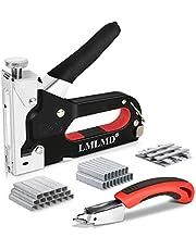 3 en 1 con Grapadora Manual Grapadora Tapicero Cables & 1800 D-U-T Grapas & Quitagrapas Tapiceria-Ideal Para Trabajos a Domicilio y Manualidades de Bricolaje.