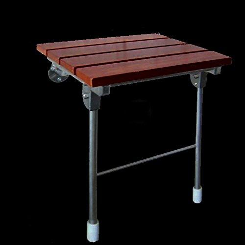 LJHA Tabouret pliable Tabouret créatif en bois massif/chaise de douche/tabouret allée/tabouret de chaussures pliable changement (4 tailles en option) chaise patchwork (taille : 38 * 46cm)