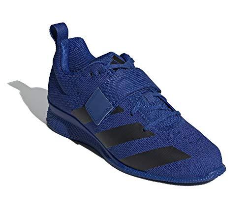 adidas Adipower Weightlifting II Chaussures d'haltérophilie Homme Bleu, 38 2/3