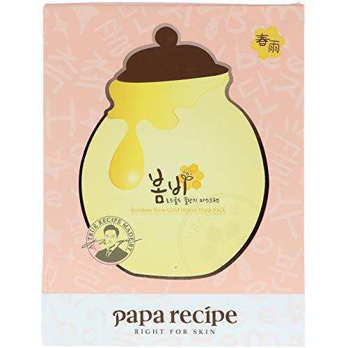 PAPA RECIPE Bombee Rose Gold Honey Mask Pack