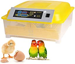 Egg Incubator,48 Eggs Digital Incubator with Automatic Egg Turning,Fertilized Chicken Duck Goose Turky Quail Brids Eggs for Hatching (48)