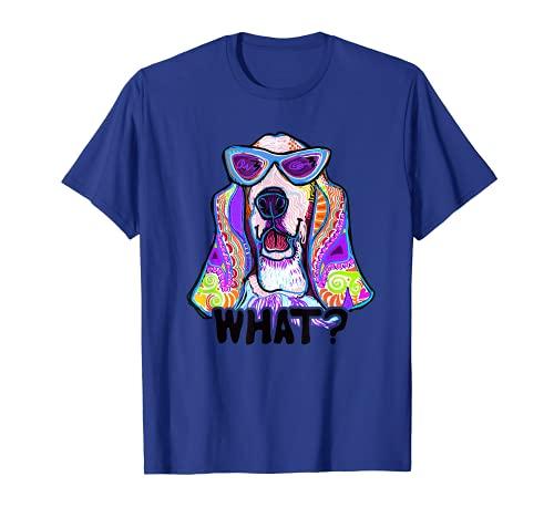 Basset Hound diseño para mujeres con basset hounds, regalo, perro Camiseta