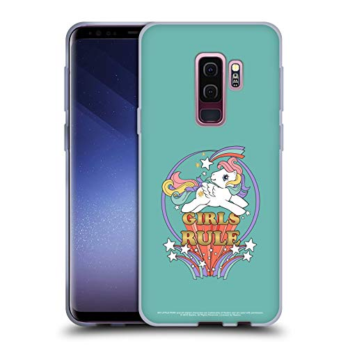 Head Case Designs Officially Licensed My Little Pony Classic Girls Rule Fun House Soft Gel Case Compatible with Samsung Galaxy S9+ / S9 Plus