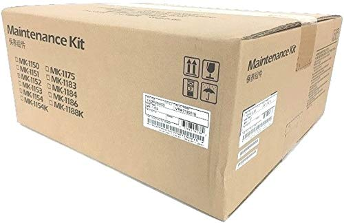 Kyocera 1702RV0US0 Model MK-1152 Maintenance Kit for use with Kyocera ECOSYS P2040dw, M2640idw, M2635dw, M2540dw and M2040dn Printers; Up to 100000 Pages Yield, Includes Drum Unit and Developer Unit