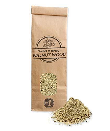Smokey Olive Wood 300 ml serrín de Madera de Nogal para Barbacoa y ahumar. Talla Nº1: 0-1 mm, W1-01-0.3L
