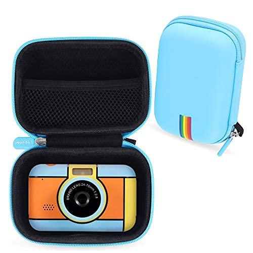 La custodia protettiva per fotocamera per bambini Leayjeen è compatibile con YunLone ToyZoom, con scheda SD da 32 GB, fotocamera per bambini da 2,4 pollici (solo custodia protettiva) (Blue)