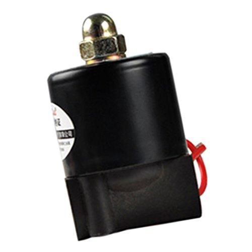 Eléctrica Válvula de Solenoide para Combustible Petróleo Aire Agua Normalmente Cerrado AC220V...