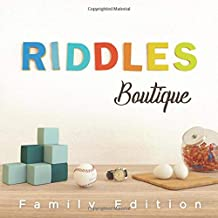 Riddles Boutique: Unique collection of beautifully designed logic riddles. Great for both kids & adults.