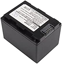 CS Replacement Battery for Samsung Camera HMX-H200, HMX-H200BP, HMX-H203, HMX-H203BN, HMX-H204, HMX-H204BN, HMX-H205, HMX-H205BN, HMX-S10, HMX-S10BN, HMX-S10BP, HMX-S15, HMX-S15BN/S15BP/S16/F40, SM