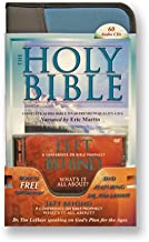 Audio Bible King James Complete Bible on 60 High Digital Audio CDs by Eric Martin PLUS DVD Left Behind Bible Prophecy-Tim ... oshua-Jesus-Mary-Peter-Paul-Romans-Revelation