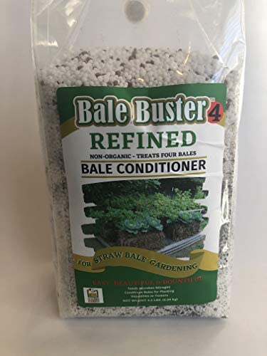 BaleBuster4 Four Bale Conditioning Formula for Preparation of a Straw Bale Garden for Planting product image