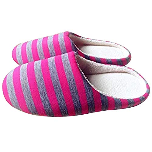 Demarkt 1 Paar Hausschuhe Warme Hausschuhe Schlafzimmer Hausschuhe Hause Atmungsaktive Hausschuhe Unisex Schuhe für Party Size 38-39
