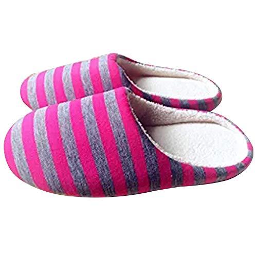 LAAT 1 Paar Hausschuhe Warme Hausschuhe Schlafzimmer Hausschuhe Hause Atmungsaktive Hausschuhe Unisex Schuhe für Party Size 38-39