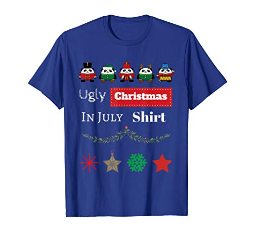 Ugly Christmas In July Shirt - Funny Ugly Christmas Shirt