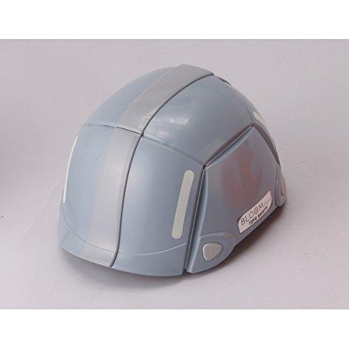 防災用折りたたみヘルメット BLOOM(グレー)【防災ヘルメット】 ds-1721502