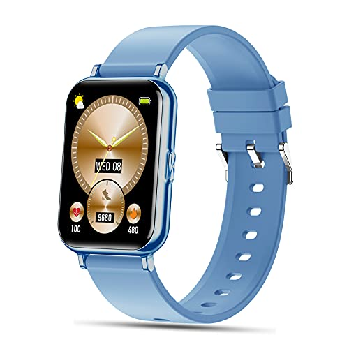 """SEPVER Smartwatch, 1.65"""" Reloj Inteligente con Impermeable IP68, Pulsómetro, Monitor de Sueño, Podómetro Pulsera de Actividad Deportivo Hombre Mujer Monitores de Actividad para Android iOS"""