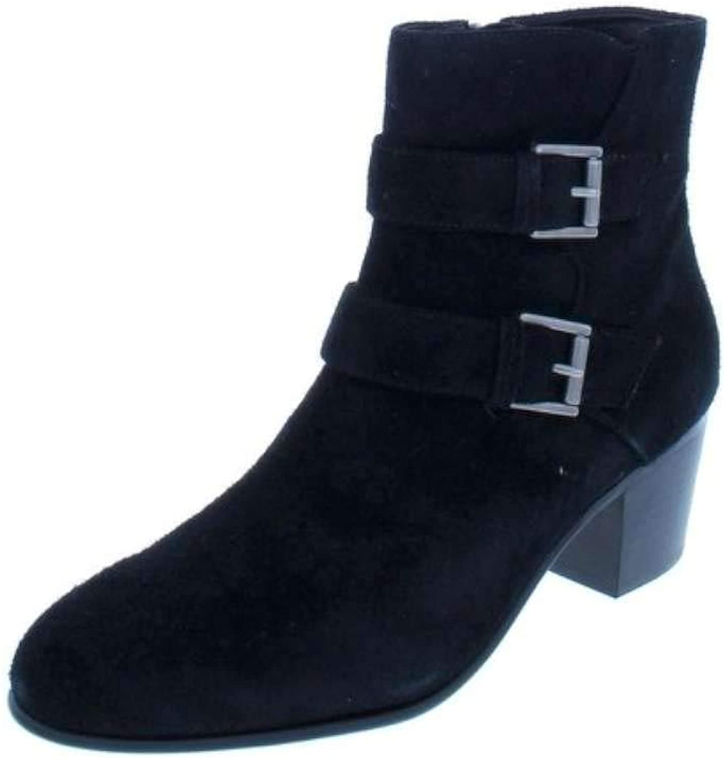 Clarks Womens Ceara Chloe Buckle Booties Ankle Boots
