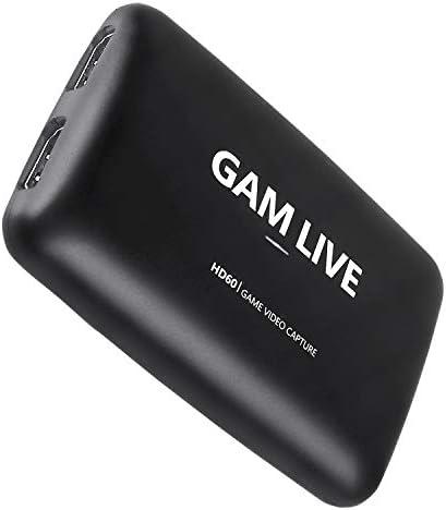 UCEC GAM Live USB 3 0 Game Video Capture Card 1080P 60FPS or 4K at 30 FPS HDMI Capture Card product image