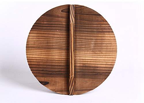 PPuujia Hierro Wok tradicional hecho a mano de hierro Wok antiadherente Pan sin revestimiento de inducción y utensilios de cocina de gas (color : tapa)