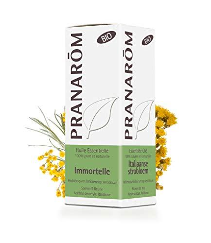 Pranarôm | Huile Essentielle Immortelle - Helichrysum italicum - Hélichryse italienne Bio | Sommité fleurie | HECT | 5 ml