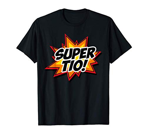 Super Tio Español Tío Superhéroe Regalo Divertido Camiseta