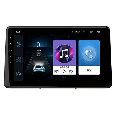 Android 10.0 8 Core 2.5D Pantalla Estéreo para automóvil Navegación por satélite Radio DVD Control del volante Reproductor de video Navegación GPS multimedia para Baojun 510 2017(Color:WiFi 1G+16G)