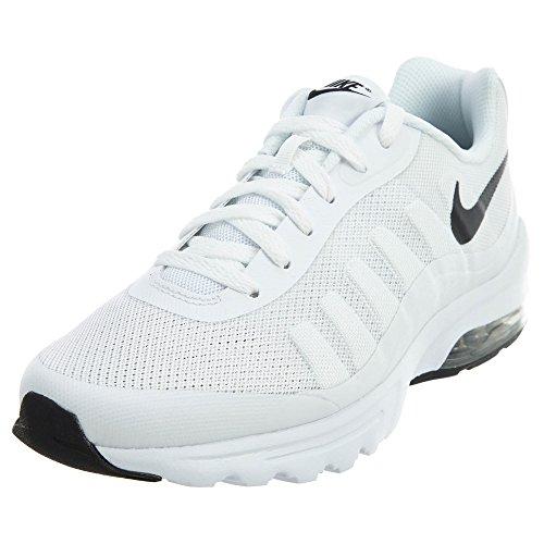 Nike Herren Air Max Invigor Laufschuhe, Weiß (White/Black 100), 45 EU