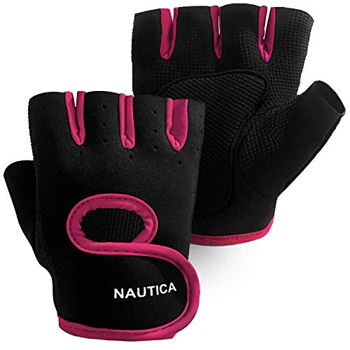 Nautica Fitness Gloves | Perfect for Work, Gym & Exercise | Breathable, Comfortable & Durable Gloves for Men & Women