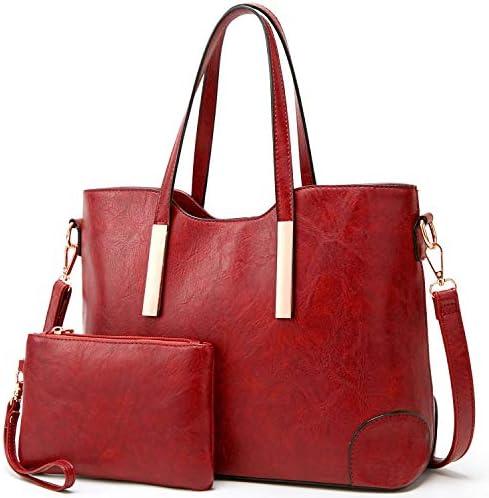 Satchel Purses and Handbags for Women Shoulder Tote Bags Wallets