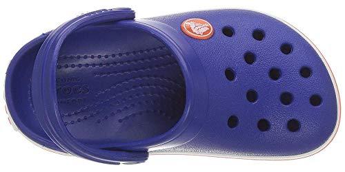Crocs Crocband Clog Kids Unisex Niños Zuecos, Azul (Cerulean Azul), 32/33 EU