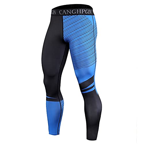 Corlidea Pantalones de compresión para hombre, transpirables, para fitness, ropa interior funcional para correr, senderismo, ciclismo, D, extra-large
