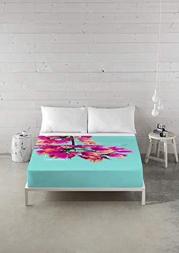 Pantone Juego de sábanas Buganvilla Cama 150 cm